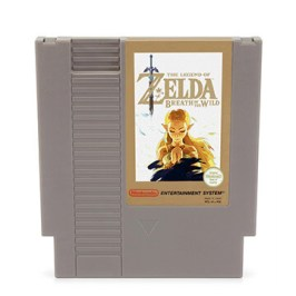 Zelda: Breath of the Wild 8-Bit Version für das NES!