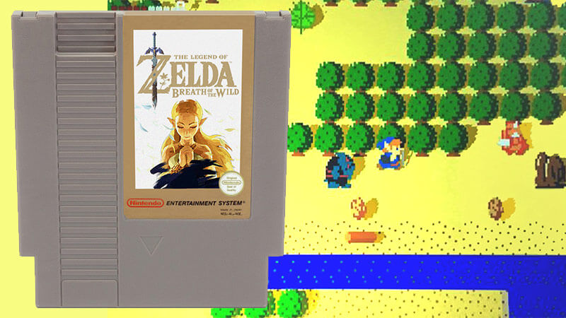 Zelda: Breath of the Wild 8-bit