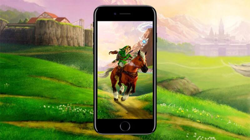 The Legend of Zelda auf dem Smartphone