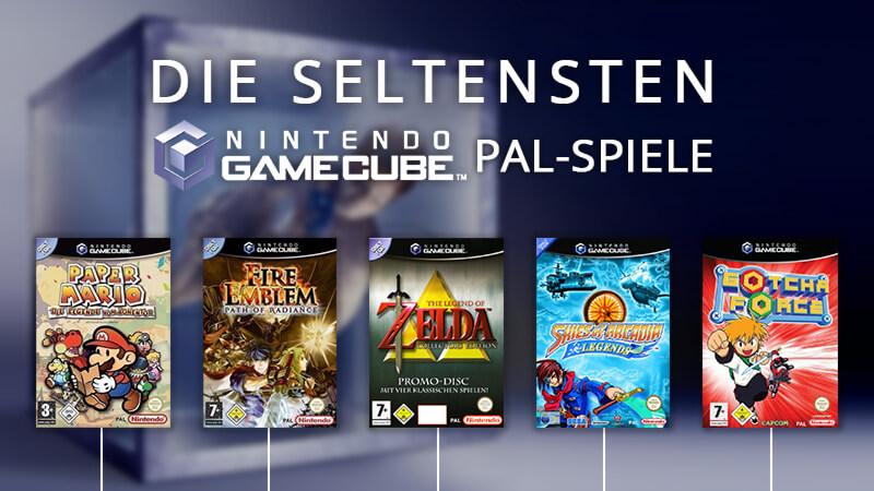 seltenste GameCube PAL-Spiele