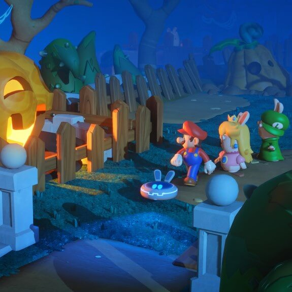 Mario + Rabbids: Gameplay-Video erschienen