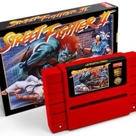 Street Fighter II: Neues SNES Modul geplant
