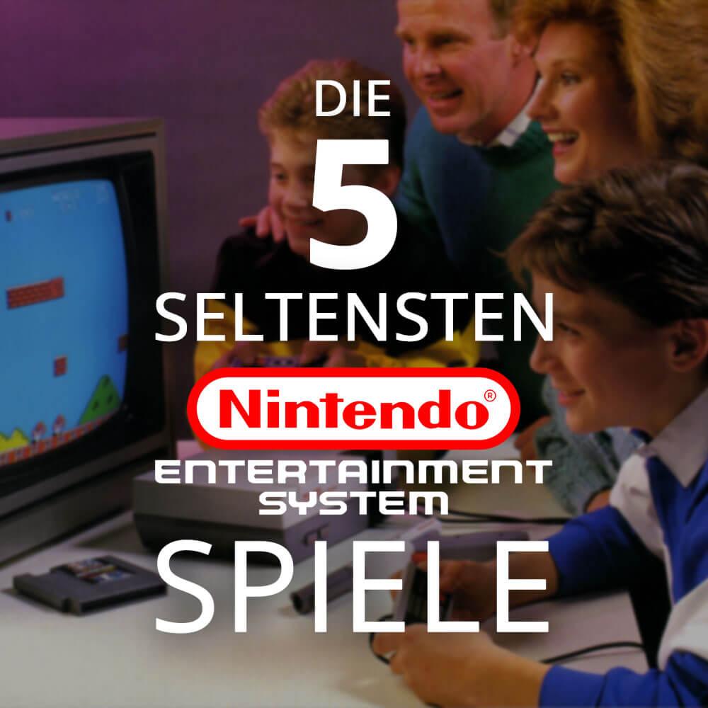 Die Top 5 der seltensten NES Spiele!