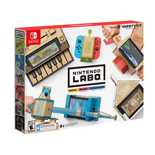 Nintendo Labo: Alle Infos zu den Toy-Con Sets!