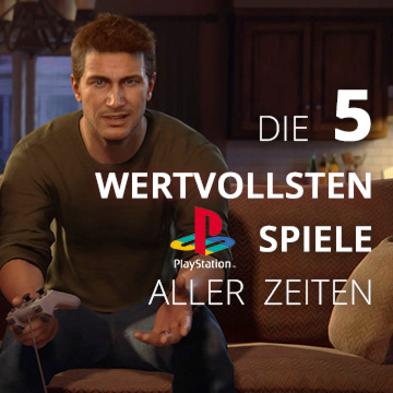 Die Top 5 der wertvollsten PS1 Spiele!