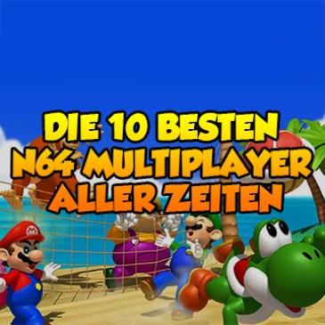 Die 10 besten N64 Multiplayer-Spiele aller Zeiten!