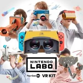 Nintendo stellt das Labo Toy-Con 04 VR Set vor