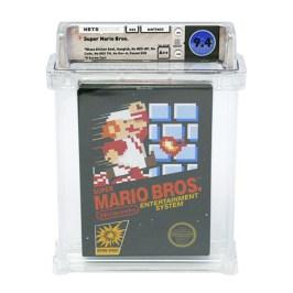 Super Mario Bros. Kopie erzielt Rekordpreis