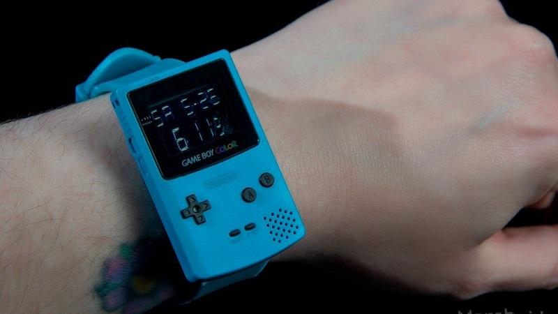 Gameboy Color Armbanduhr