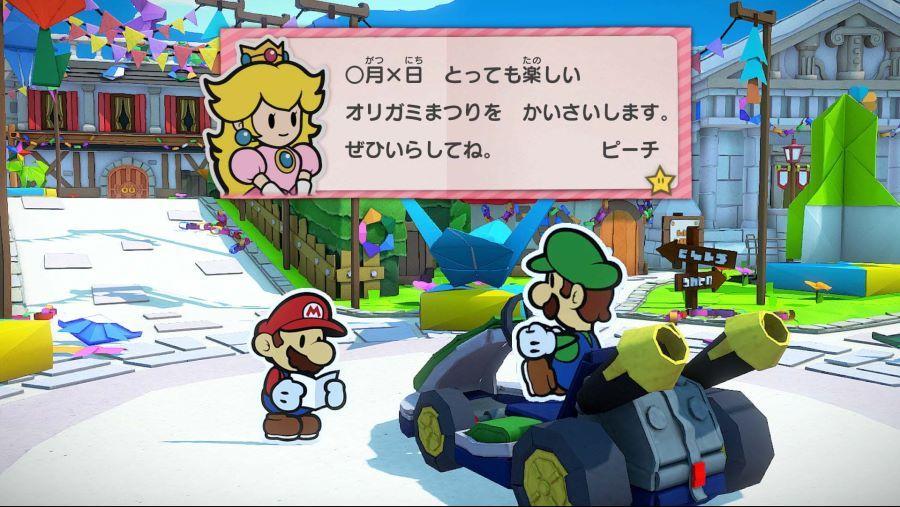 Paper Mario Switch Origami 3