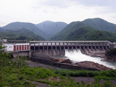 Hydro electric power station