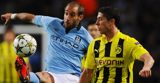 Dortmund v Man City: Citizens to bow out with a whimper ...