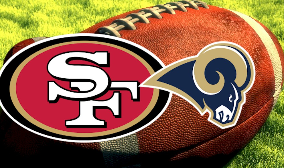 Image result for 49ers vs. Rams