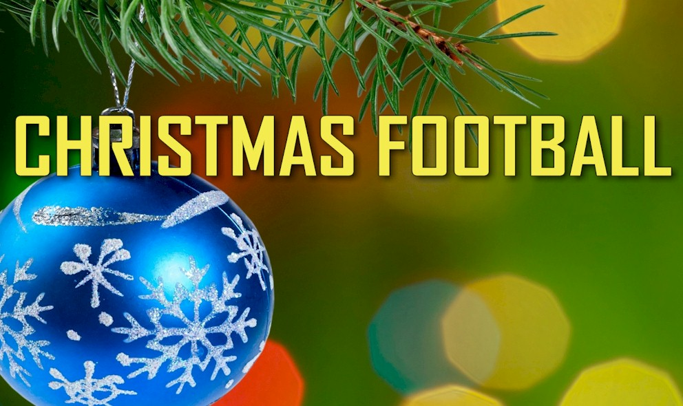 Image result for christmas day football live pic logo
