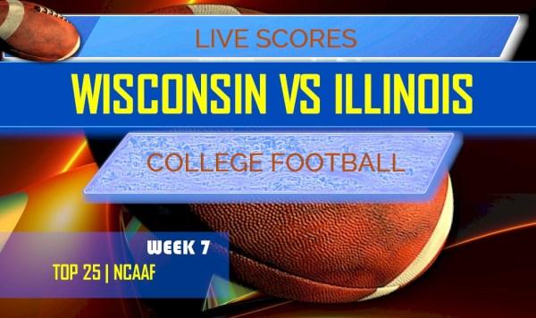 Wisconsin vs Illinois Score: AP Top 25 College Football Rankings
