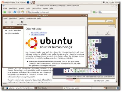Ubuntu in Aktion