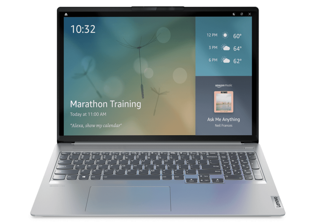 Lenovo IdeaPad 5 series with Show Mode from Alexa