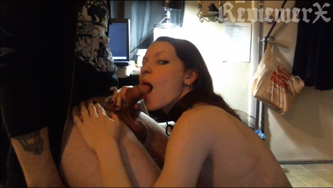 Kajira Bound, in her FIRST EVER only video sex scene. Members can click the pic for the video from 2012-ish.