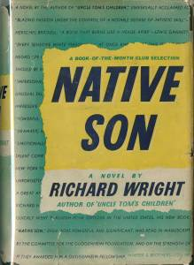First edition of Richard Wright's 1940 novel, Native Son.