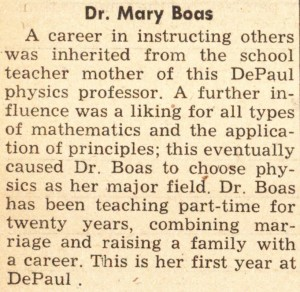 DePaulia_DePaul_University_Chicago_IL_MaryBoas1958Crop
