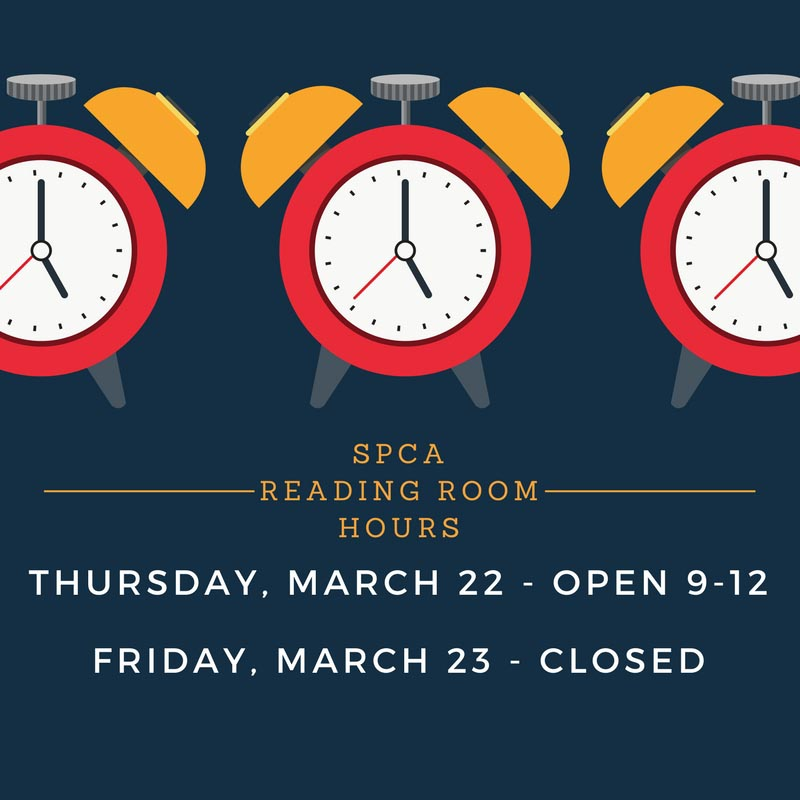 Early close on March 22 and closed all day March 23