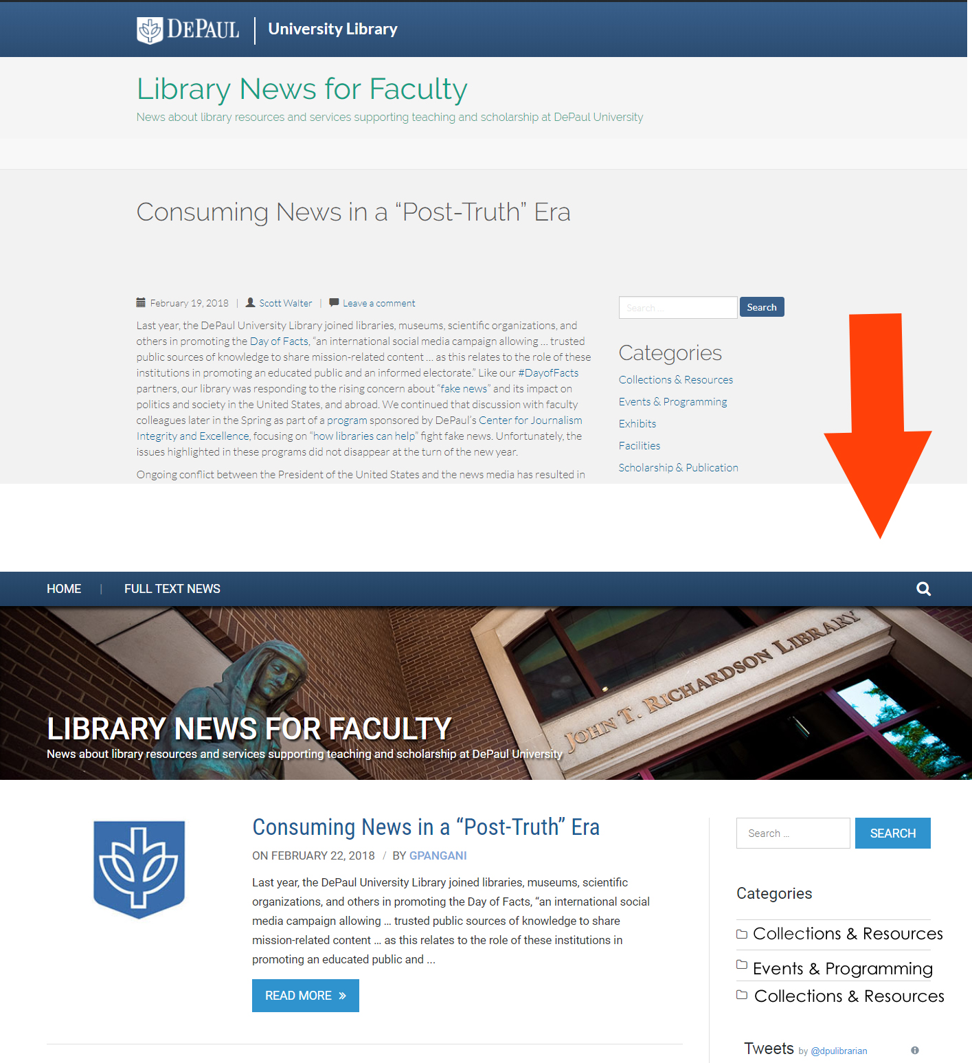 We've Redesigned our Blog and Faculty Newsletter