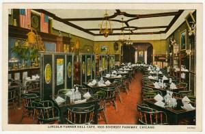 Lincoln Turner Hall dining room.