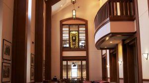 3rd Floor Reading Room, John T. Richardson Library