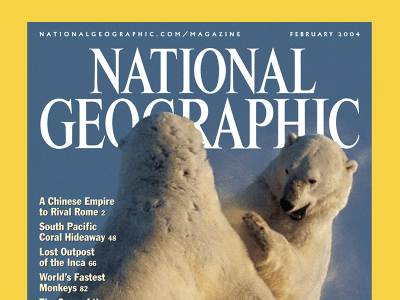 National Geographic Feb 2004 cover