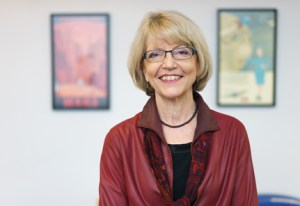 Professor Alison Booth, the new academic director of the Scholars' Lab