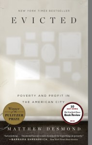 """Book cover of """"Evicted: Poverty and Profit in the American City"""""""