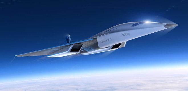 Каким будет сверхзвуковой самолет Virgin Galactic: опубликованы ...