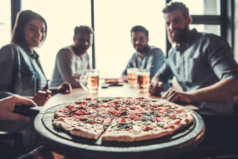 Sharing Pizza