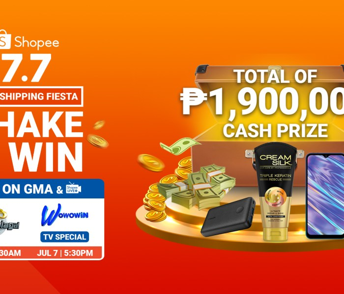 Catch Amazing Shopee 7.7 Flash Deals on Wowowin and Eat Bulaga