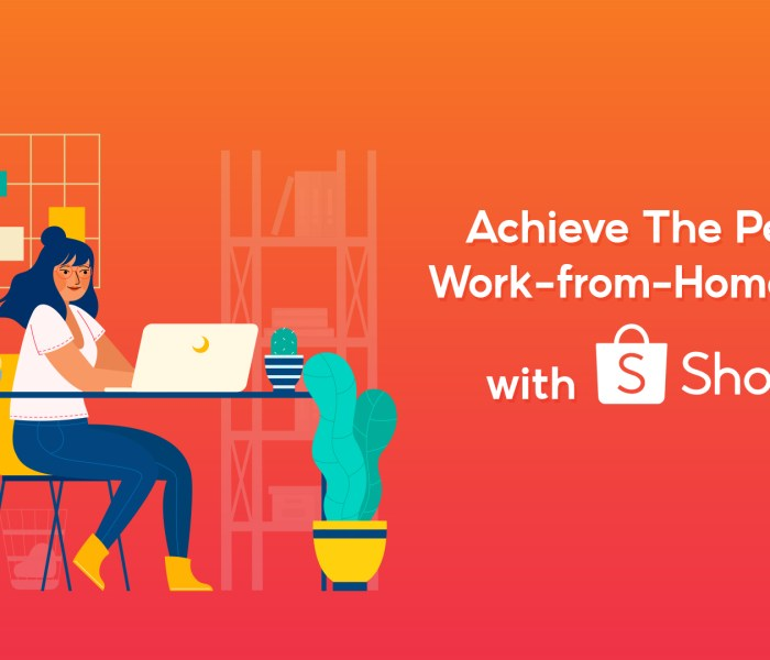 Shopee Makes the Perfect Work From Home Setup Possible