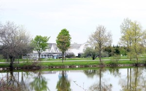 The legendary clubhouse at Angus Glen.