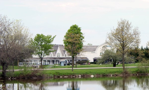 The famed clubhouse at Angus Glen.