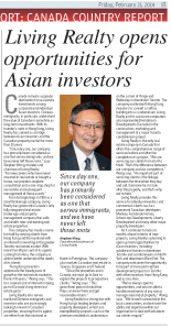 Living Realty Featured in the South China Morning Post