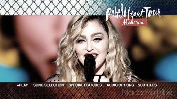 Rebel Heart Tour menu