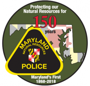 Natural Resources Police 150th Anniversary Logo