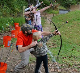 Learning how to use a bow
