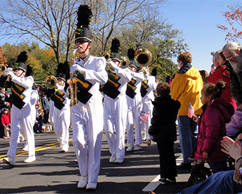 Veterans Day Parade in Leonardtown, courtesy of St. Mary's County Tourism