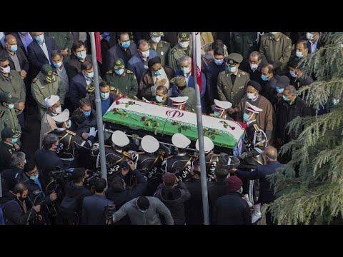 Ιράν: Θρήνος στην κηδεία του πυρηνικού επιστήμονα