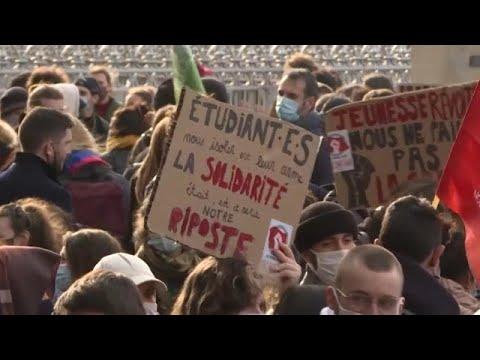 Φοιτητικές κινητοποιήσεις στην Γαλλία