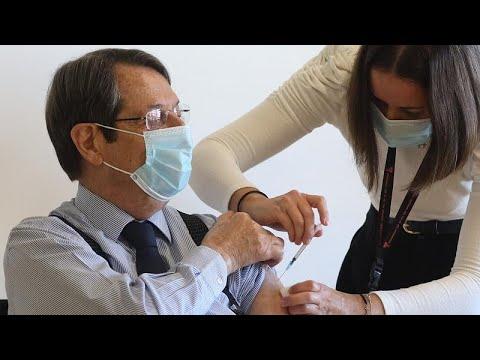 Κύπρος: Την δεύτερη δόση του εμβολίου Covid-19 έλαβε σήμερα ο Πρόεδρος Αναστασιάδης…