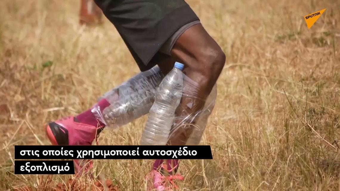 Η απίστευτη προπόνηση ενός νέου μπασκετμπολίστα από το Καμερούν – Όνειρό του είναι να παίξει στο NBA