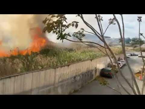 Πυρκαγιά στα Λατσιά