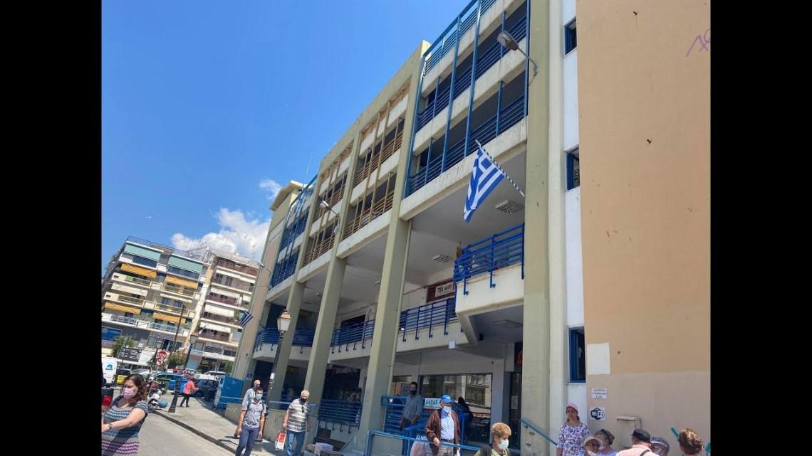 Σε κακή κατάσταση το κτίριο της Δημοτικής Αγοράς Καβάλας
