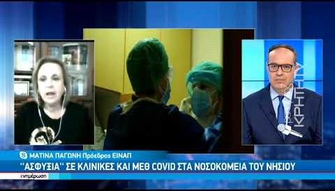 Προβληματίζει η ασφυκτική πίεση στο ΕΣΥ της Κρήτης