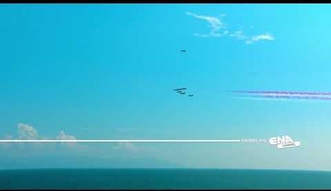 Σύντομη πτήση των Saudi Hawks πάνω από την Καβάλα